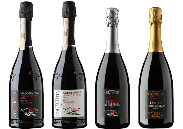bottiglie vino prosecco Col Miotin